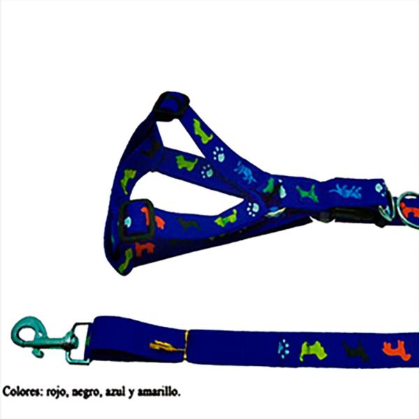 Trailla Harnes de perritos color azul