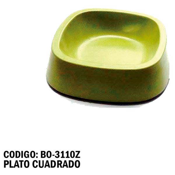 BO-3110Z Plato Cuadrado